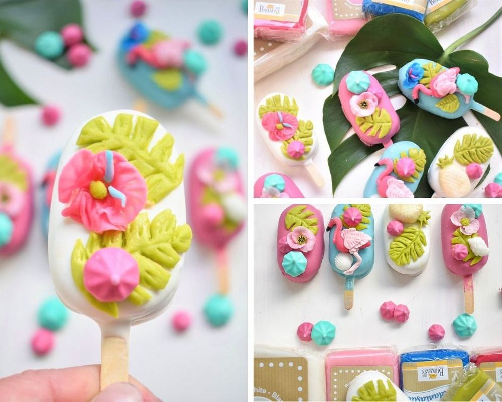 Collage verschiedener Cakecicles