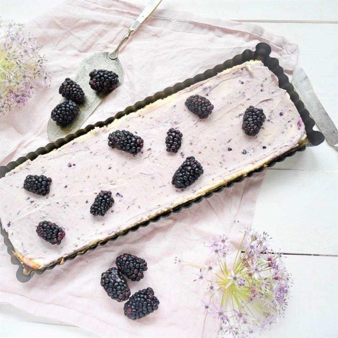 Brombeer Cheesecake Tarte