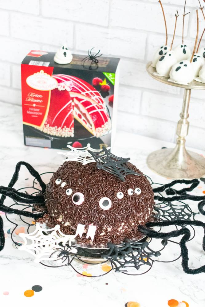 Spinnen Torte Halloween