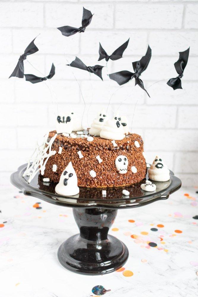 Ideen Fur Gruselige Halloween Torten Zuckerdeern De