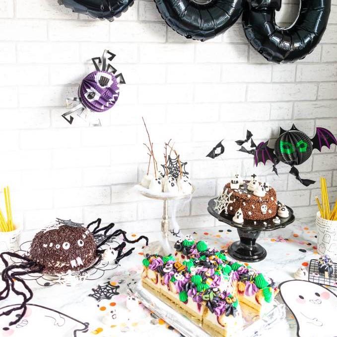 Halloween Torten Buffet