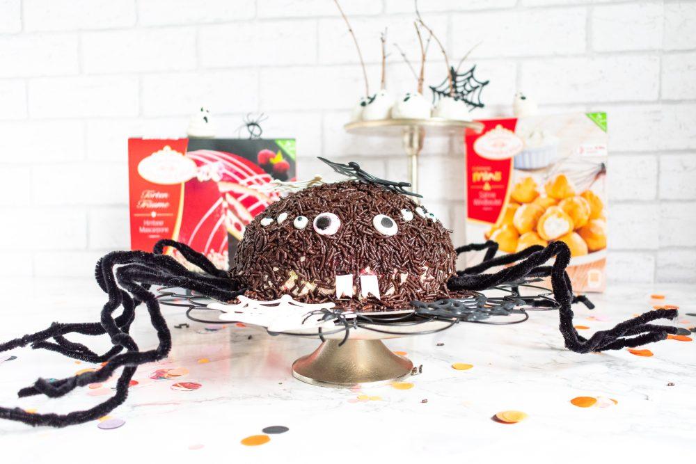 Spinnen Torte