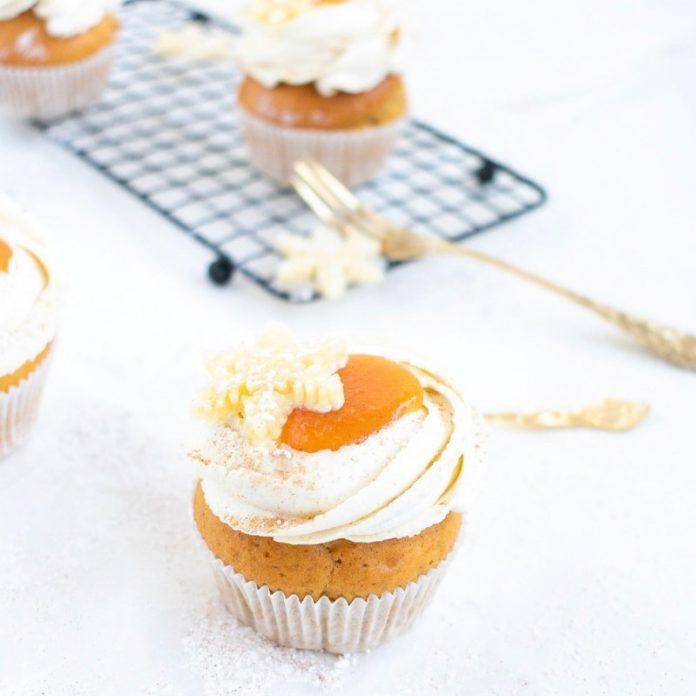 Orangen Zimt Cupcake