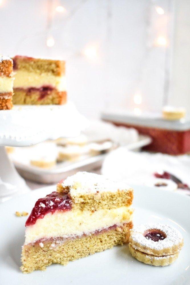 Spitzbuben Torte