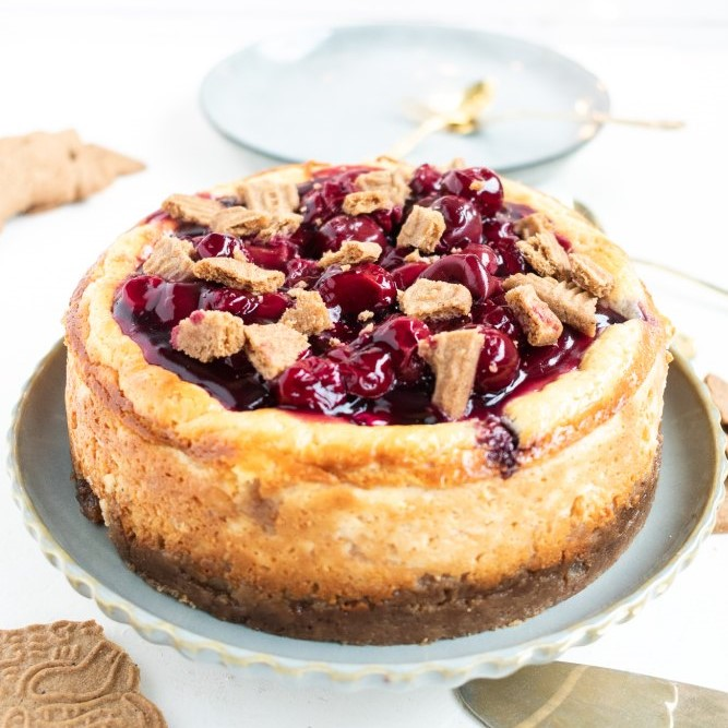 Kirsch Spekulatius Cheesecake
