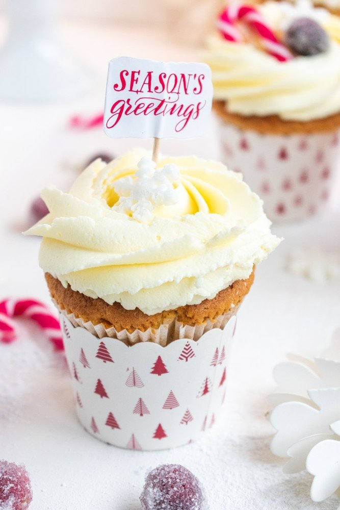 Marzipan Cupcakes