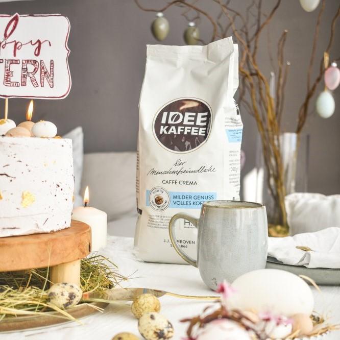 Milde Ostern mit IDEE KAFFEE