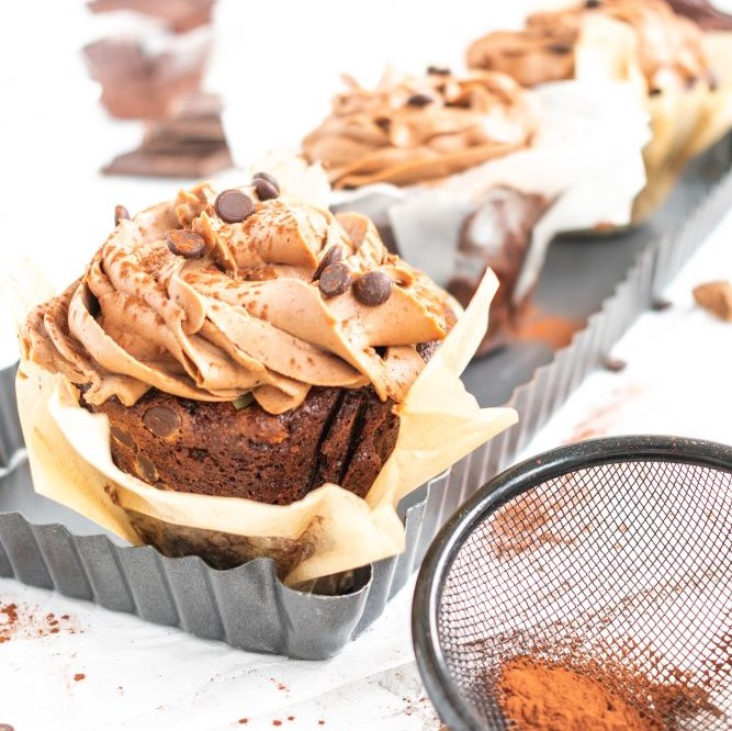 XXL Chocolate Muffins