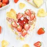 Erdbeer Schoko Knusper Herz