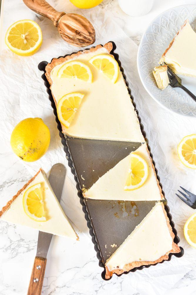Zitronen-Mousse Tarte